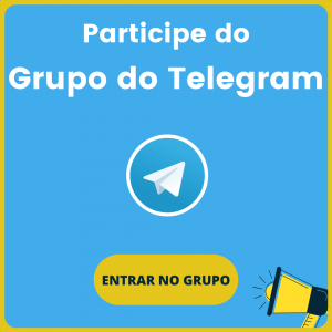Participe do Grupo do Telegram pequeno